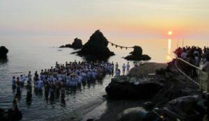 【三重】二见兴玉神社「夏至祭」