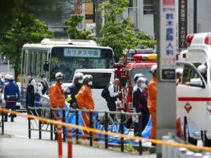 快讯:川崎持刀伤人案被刺者为16人