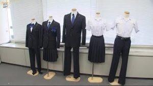 日本福冈时隔70年改中学校服 裙裤设计被采用