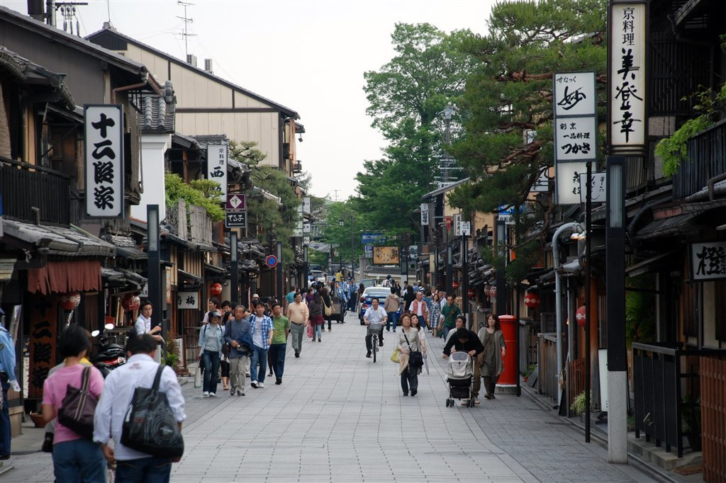 京都景点 祇园-花见小路