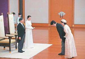 兄弟互动敏感…皇室隐忧新日皇与皇嗣对立
