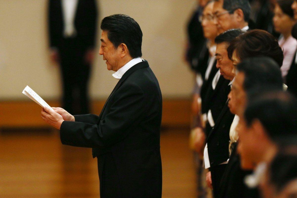 新日皇曾公开反对修宪与安倍关系受瞩目