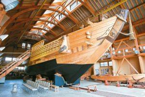 千石船展示馆
