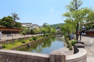 日本冈山「仓敷」 小桥流水、黑瓦白壁..欣赏江户时期繁营光景