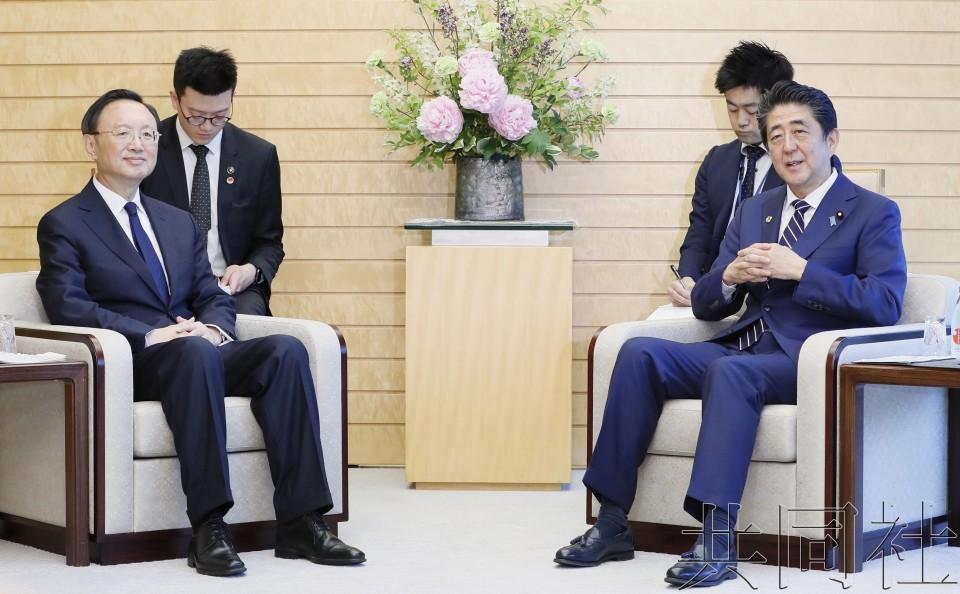 日中高官举行会谈 期待习近平访日促进关系发展