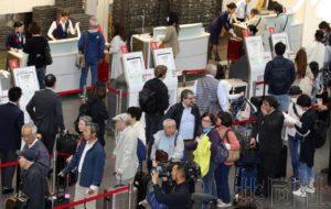 日航值机系统故障导致航班接连延误