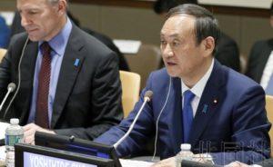 日本官房长官称不吝帮助朝鲜 呼吁实现首脑会谈