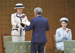 日本皇后出席全国红十字大会 首次单独履行公务