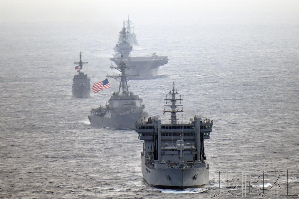 详讯:日美印菲4国舰船在南海航行