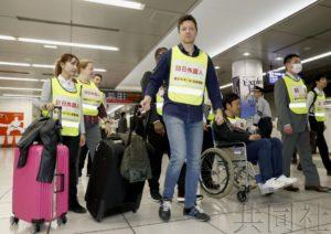 羽田机场国际线航站楼站举行反恐演练