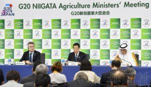 G20农业部长会议闭幕 就合作提高农业生产率达成一致