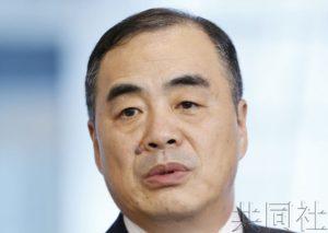 中国新任驻日大使孔铉佑正式上任