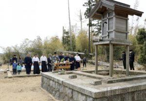 """福岛将建造汇总核事故受灾神社的""""合祭殿"""""""