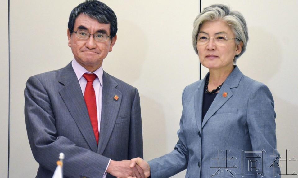 详讯:日本外相要求韩国外长同意召开仲裁委员会
