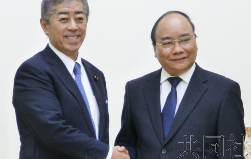 日本和越南就推进防卫合作达成一致