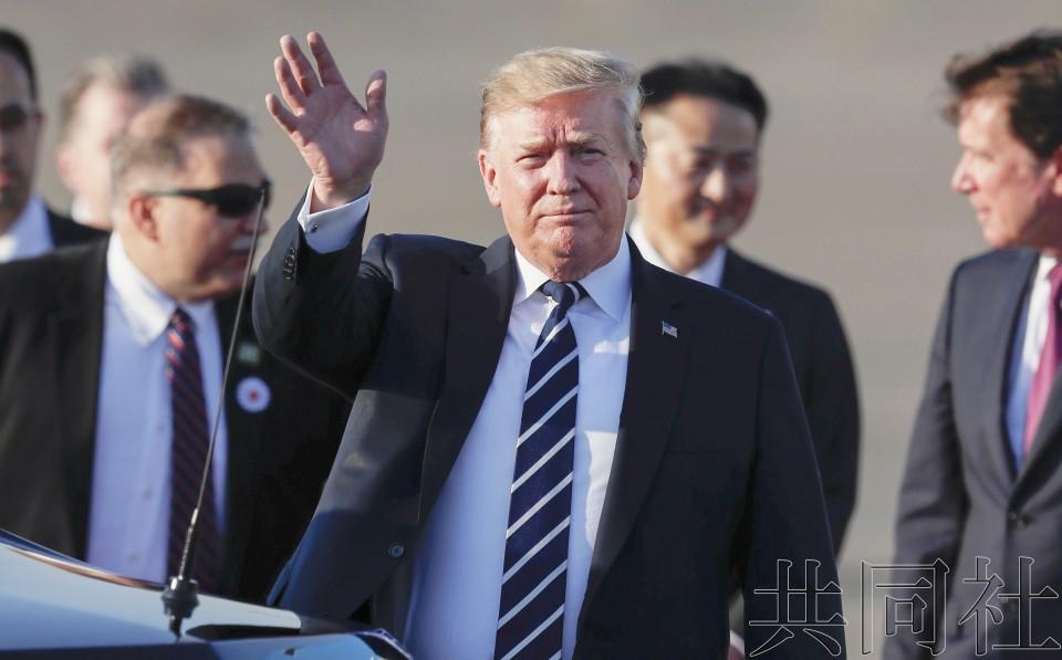 详讯2:特朗普作为令和时代首位国宾访问日本
