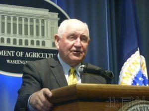 美农业部长敦促尽快谈妥日美贸易谈判 优先农业领域