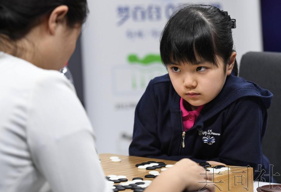 日本围棋少女仲邑堇不敌中国棋手 国际赛首战告负