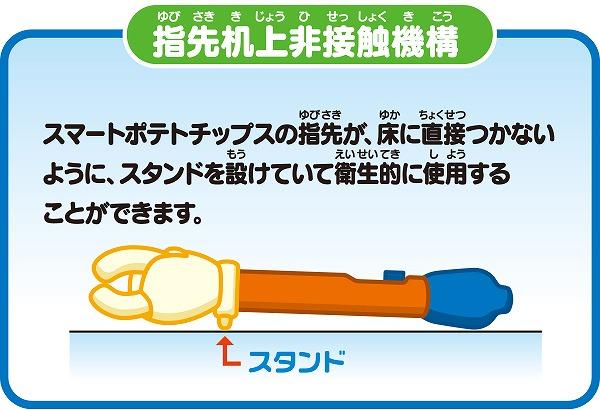 指先机上非接触機構 スペシャルサイト   タカラトミーアーツHPから引用