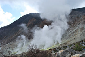 箱根山地震活动增加日气象厅升高火山警戒