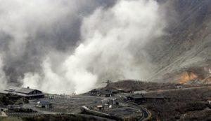 箱根山喷发警戒升级游客询问安全性