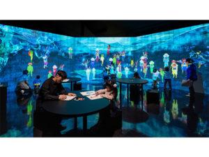 日本首座妖怪博物馆内常态性展示「teamLab 妖怪游乐园」设施
