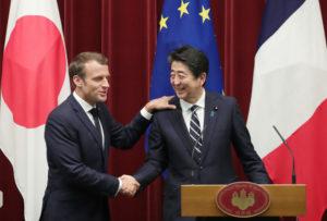 快讯:日法首脑就推进海洋安保合作等达成一致