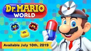 任天堂将于7月推出手游《马里奥医生世界》