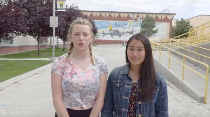 美高中蕈状云标志日女留学生质疑引回响