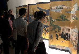 故宫南院日本神户展生动描绘16世纪异国交流