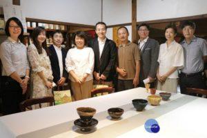 嘉市博物馆取出典藏3只茶碗设茶席接待日本贵宾