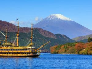 2018年日本著名观光地箱根共有2126万游客到访