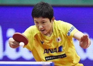 国际乒联日本公开赛:中国混双夺冠 男女单顺利晋级