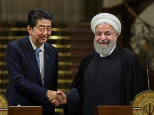 安倍表示将向伊朗提供250万美元洪灾援助