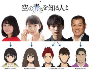 不可思议的第二次初恋故事…《知道天空有多蓝的人》配音卡司发表,吉泽亮、吉冈里帆参演