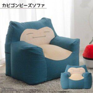 日本推出卡比兽沙发,动漫和家具的结合是否可行?