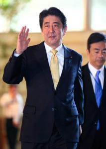 追踪安倍晋三首相(9日)