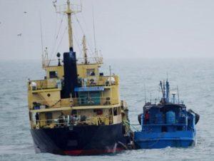 """日本向安理会通报朝鲜油轮疑似在东海""""倒货"""""""