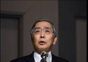 快讯:日央行行长称若通胀势头减弱将考虑加码宽松