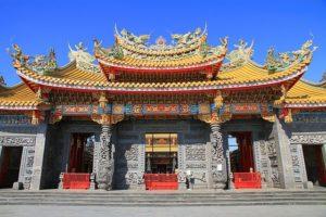 日本也有台湾庙宇埼玉县圣天宫