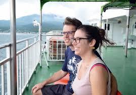 造访鹿儿岛县樱岛的外国游客5年来增至4.6倍
