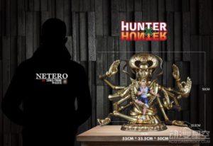 《全职猎人》会长尼特罗雕像 百式观音气势爆表