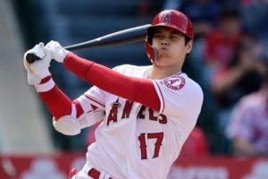 MLB/首度对决大谷翔平炮轰学长菊池雄星