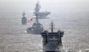 """海自""""出云""""号停靠越南金兰湾 或意在制衡中国"""
