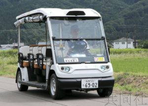 日本启动长达6个月的自动驾驶车载客公路测试
