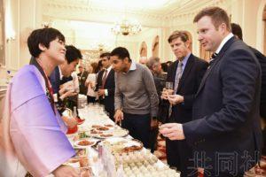 日本驻英使馆以福岛农产品待客推介安全性