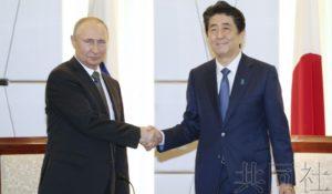 详讯:日俄首脑就最早秋季试行共同经济活动达成共识