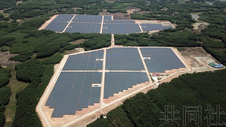 夏普在越南建成大型太阳能发电站 力争拓展事业