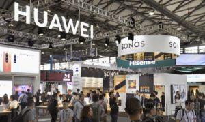 亚洲消费电子展在上海开幕 华为和日本厂商亮相