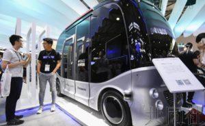 热点:中国企业在自动驾驶领域展示存在感